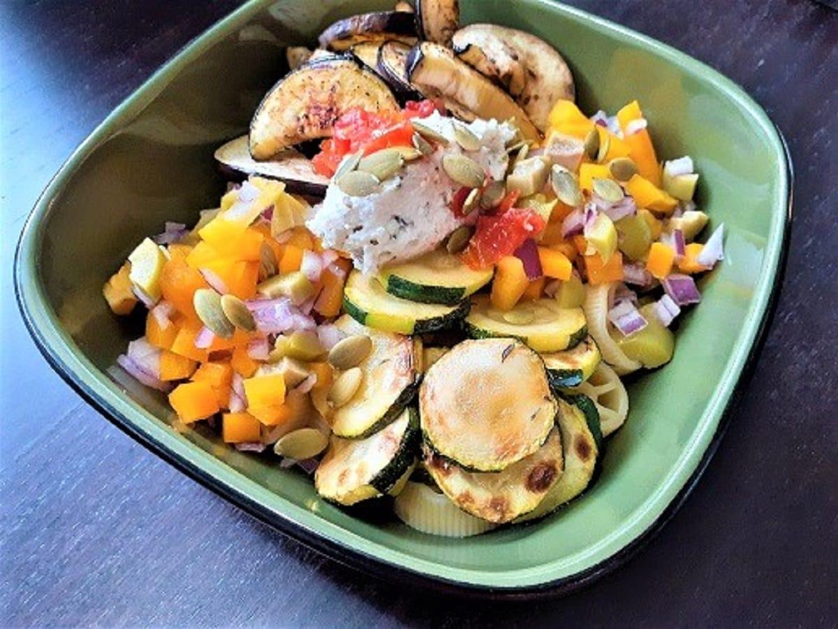 Vegetarian Pasta Salad