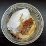 Lemon meringue pie in a jar