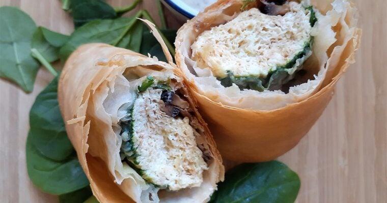 Phyllo Breakfast Burrito