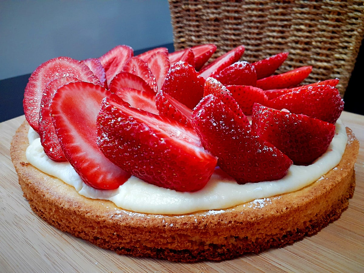 French Strawberry Tart