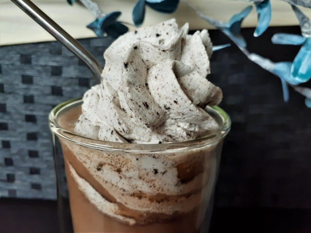 Oreo iced cappuccino