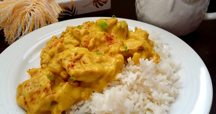 Vegan Creamy Coconut Lime Chicken