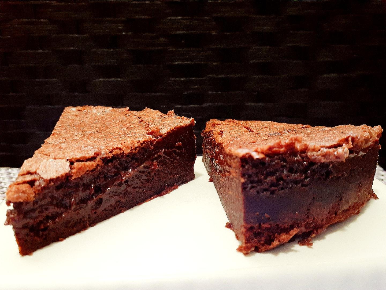 Baked Chocolate Mousse Cake : Fondant Baulois