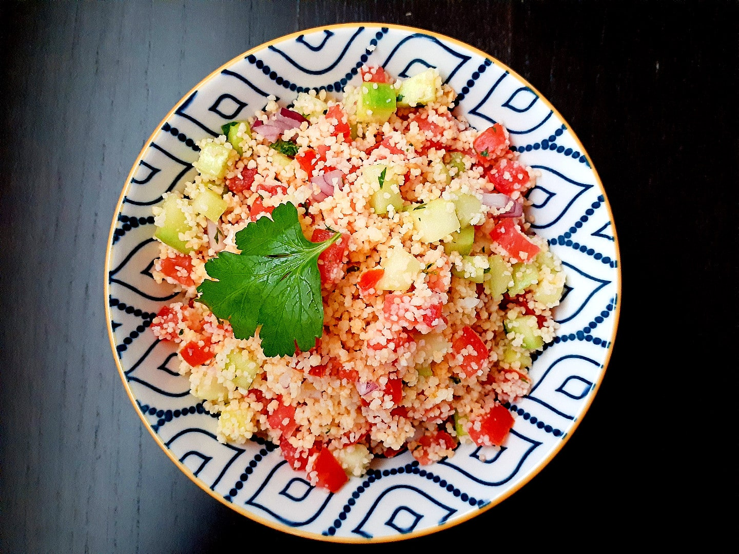 Taboulé : Couscous Salad, The French Way