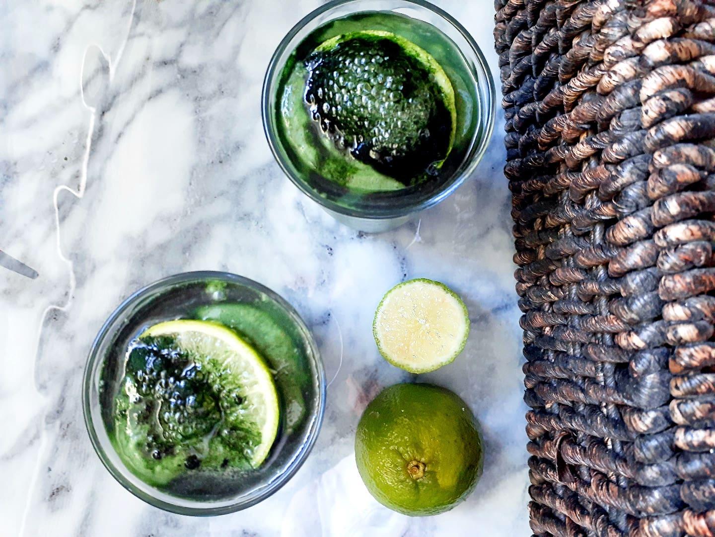 Very Green Spirulina Smoothie