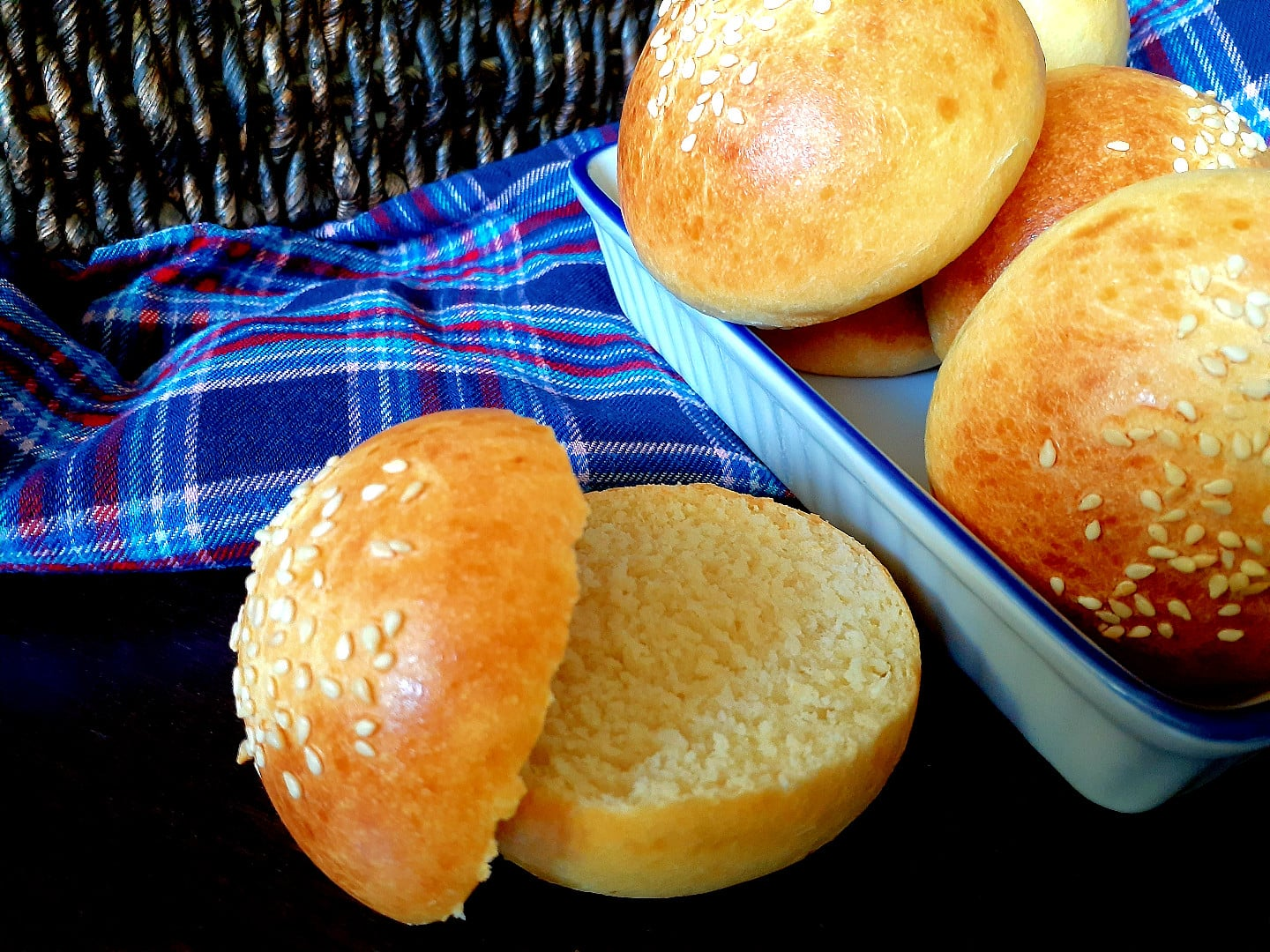 Light And Soft Brioche Slider Buns