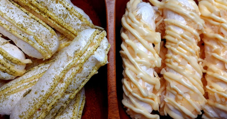 Coconut meringue sticks
