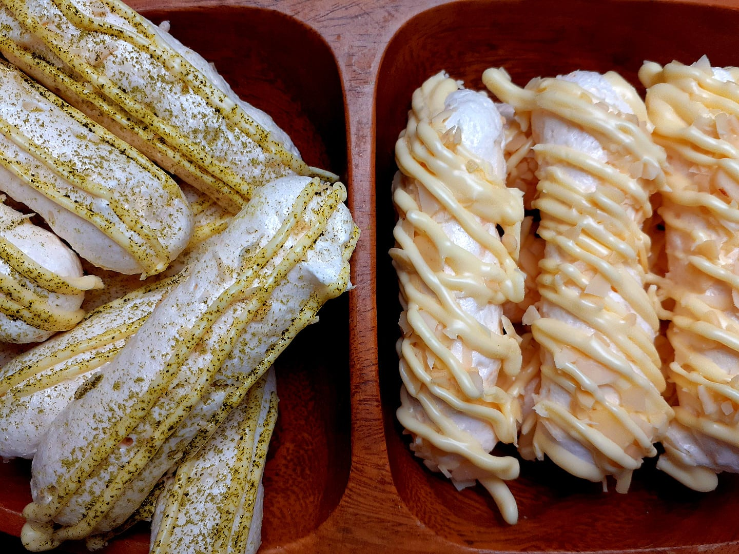 Light And Crunchy Coconut Meringue Sticks