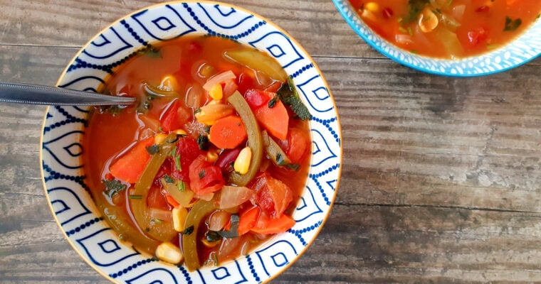 Mexican Vegetable Soup | GF