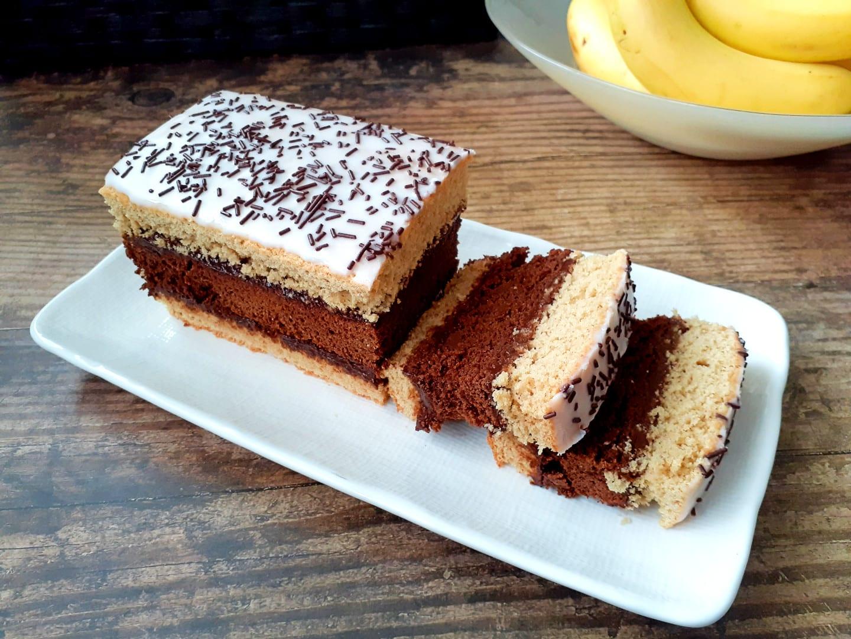 "Chocolate and Vanilla Cake: ""Napolitain"" | GF, DF"