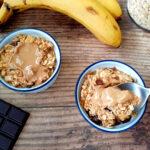 Baked oatmeal in ramekins
