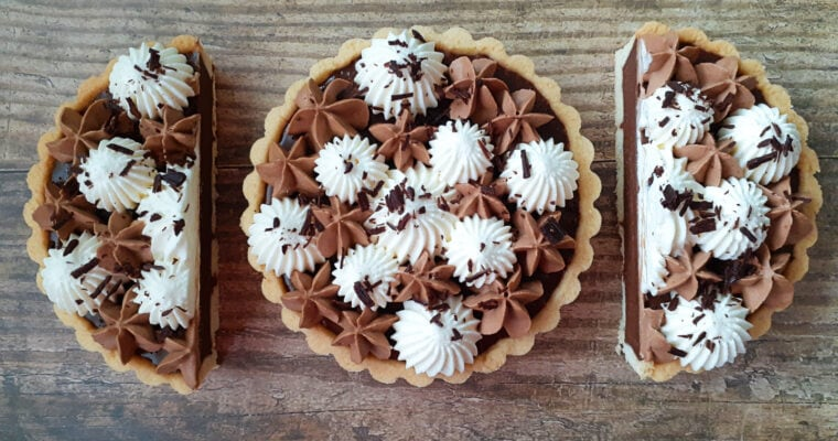 Triple Chocolate Tarts