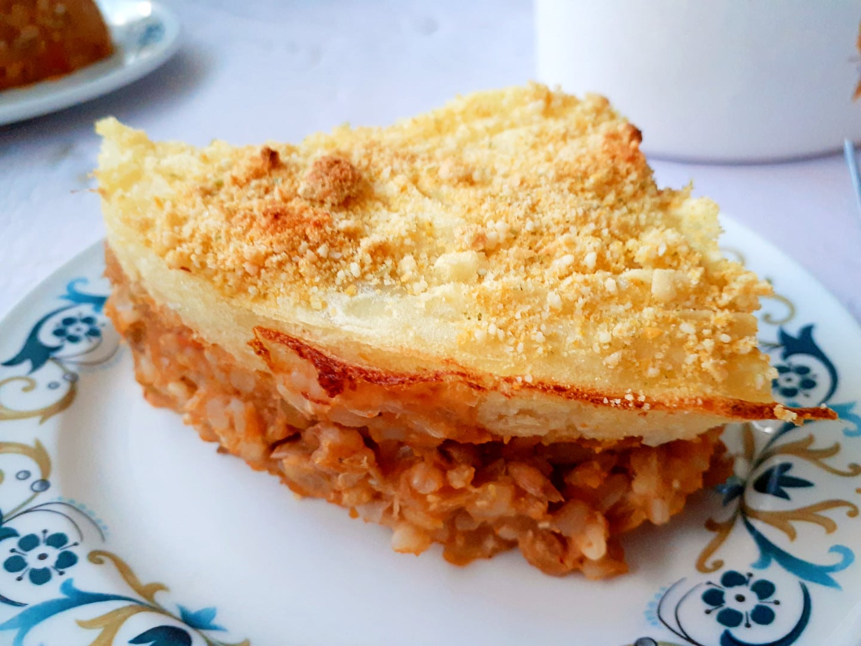 Lentil & Rice Shepherd's Pie | GF