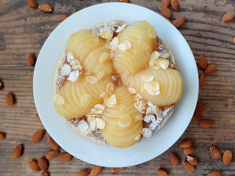 "Pear & Almond ""Bourdaloue"" Tart | GF"